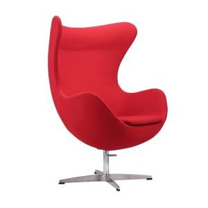 Кресло Alta EGG красный