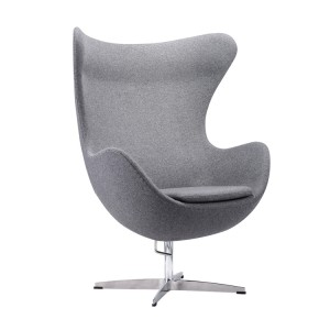 Кресло Alta EGG темно-серый