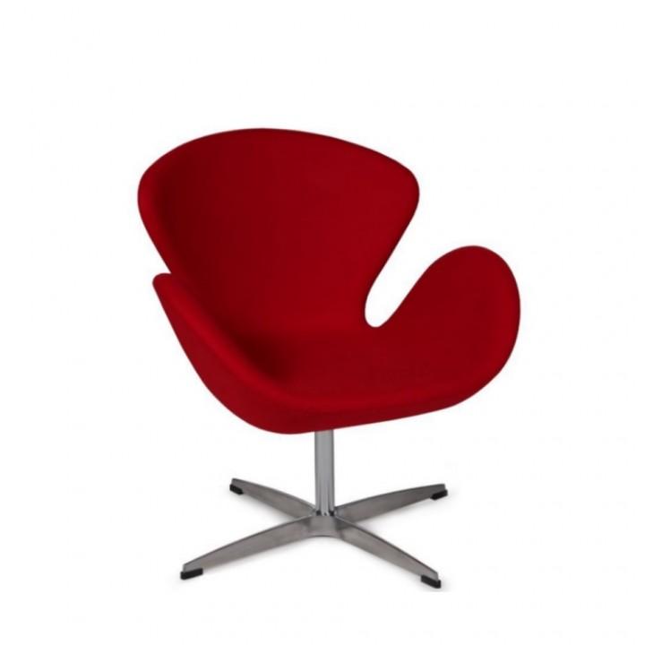Кресло Alta Swan красный