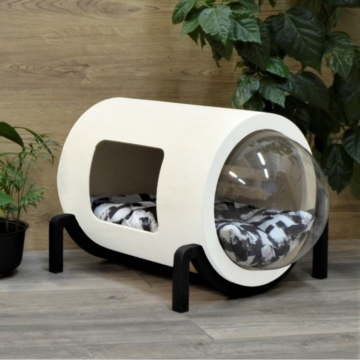 Напольный домик CAPSULE M для животных
