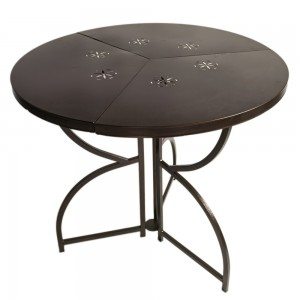 Стол раскладной DOMM YS141 темная бронза
