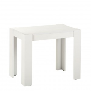 Стол-консоль GIANT белый глянец