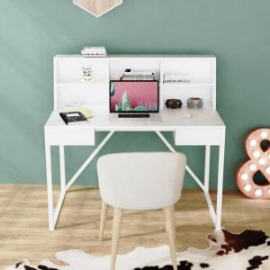 Письменный стол органайзер SKANDI белый