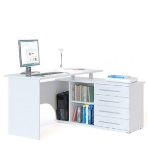 Письменный стол ГРЭТА-16 белый