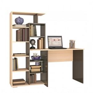 Письменный стол КВАРТЕТ-4 венге/дуб молочный