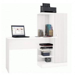 Письменный стол КВАРТЕТ-6 белый