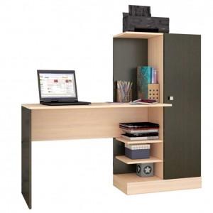 Письменный стол КВАРТЕТ-6 венге/дуб молочный