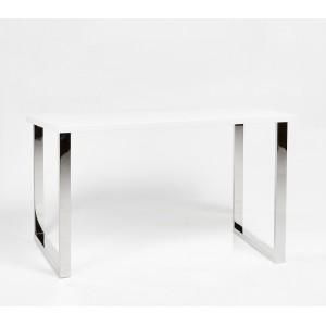 Стол-консоль DOMM CT665 белый глянец