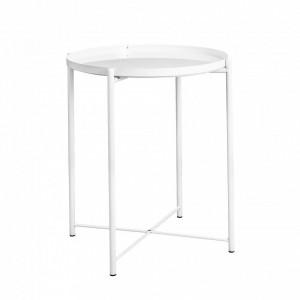 Журнальный стол DOMM ST201 белый